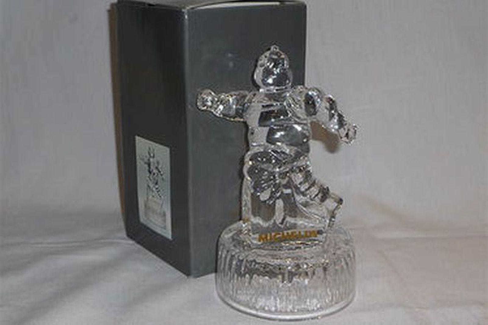 Crystal Michelin Man - Bib Trophee Bronze in Box (18cm Tall)