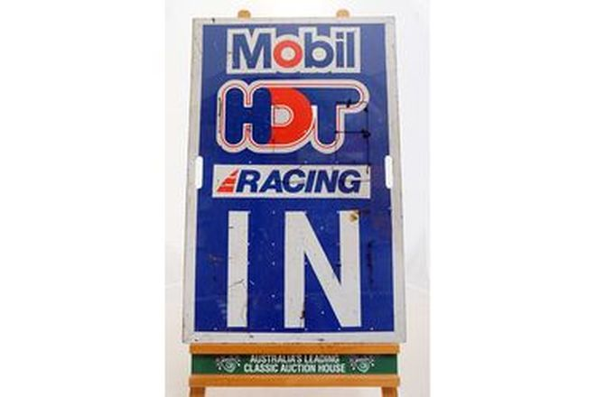 Pit Board - Brock Commodore HDT 85/86 Double Sided (58 x 90 cm)