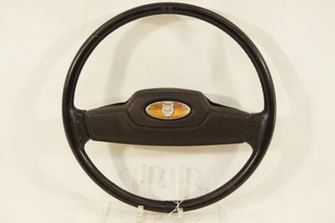 Steering Wheel - Jaguar XJ Series 3 leather covered with horn button