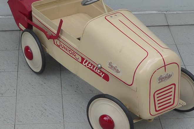 Pedal Car - Childs Cyclops Pedal Car c1950s