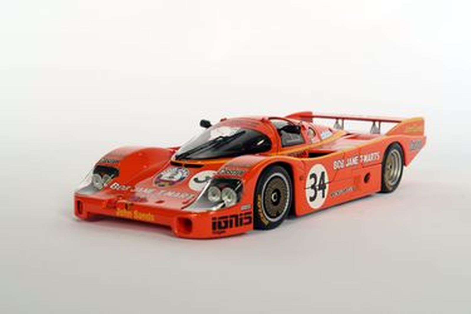 Model Car - Team Australia Porsche 956 in Bob Jane Livery by Biante (1:18 scale) and signed book