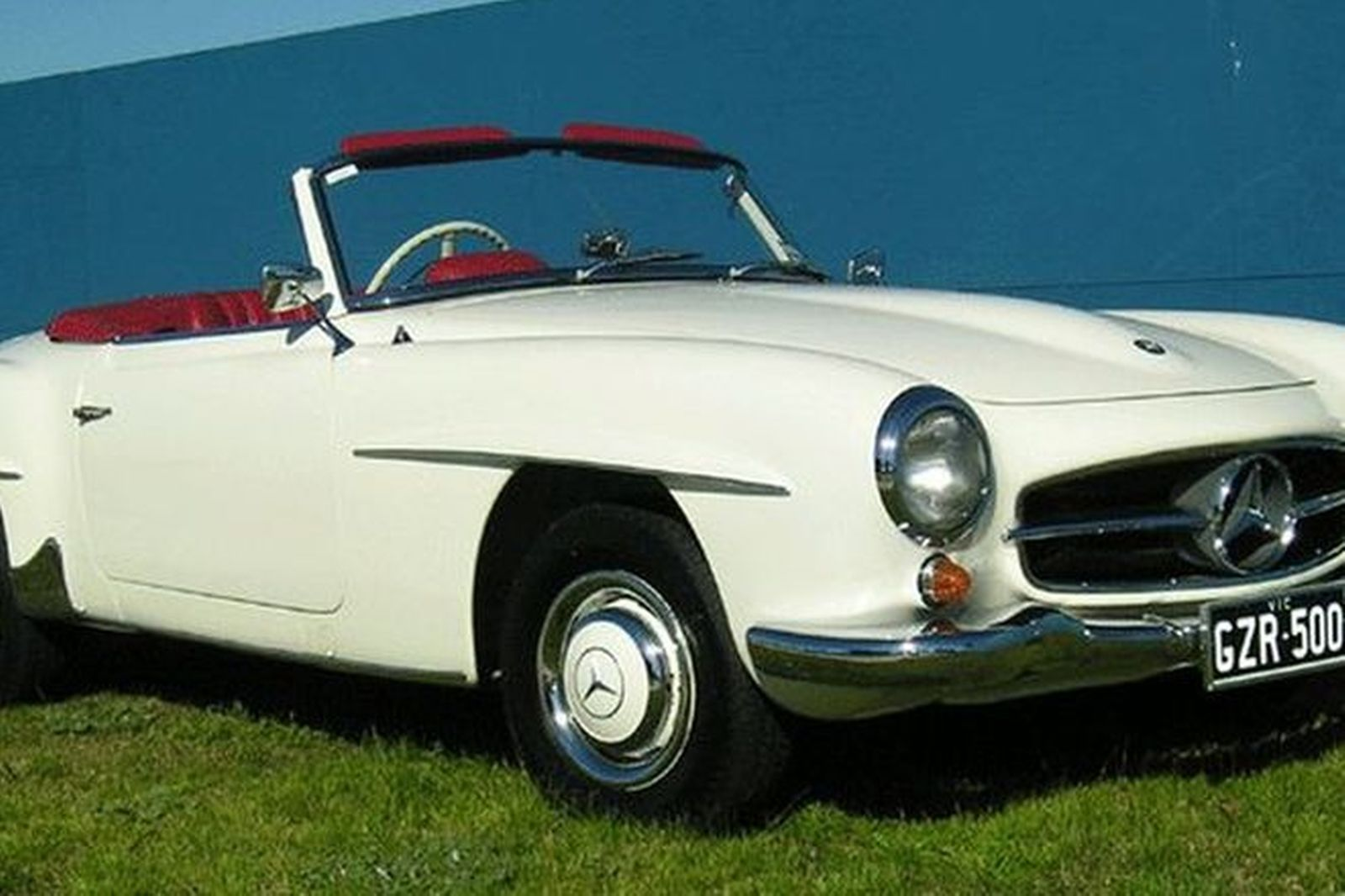 1958 mercedes 190sl convertible for sale for Mercedes benz auction
