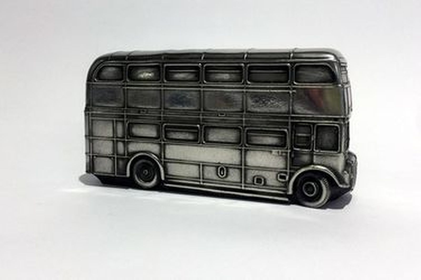 Pewter Model Car - London Bus