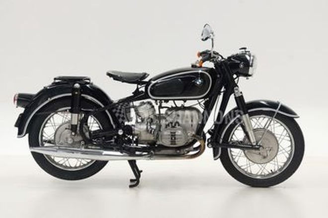 BMW R50/2 500cc Twin Solo Motorcycle