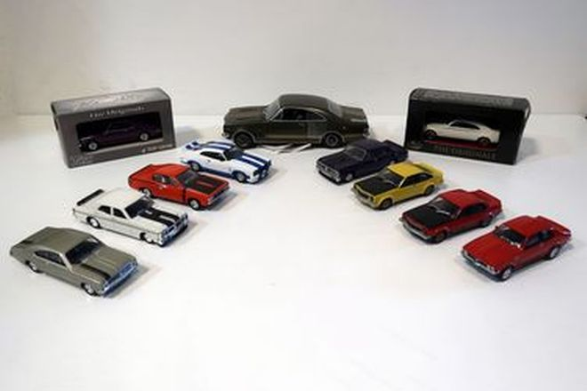 Model Cars - 13 x Assorted Trax 1:43 Scale
