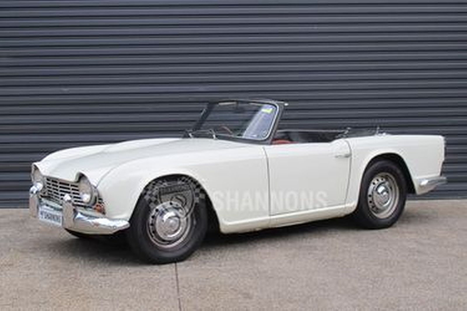Sold Triumph Tr4 Roadster Auctions Lot 58 Shannons