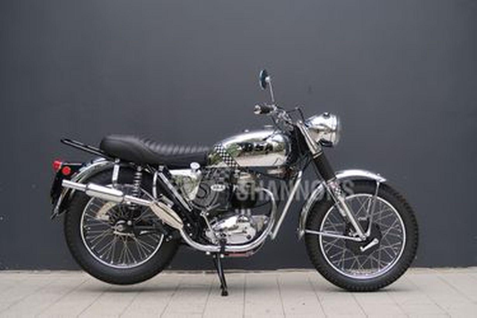BSA AWD B40 350cc Motorcycle