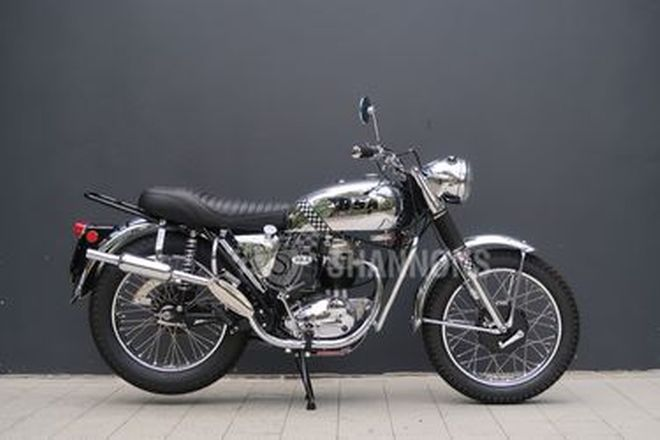 BSA AWD B40 350cc Motorcycle
