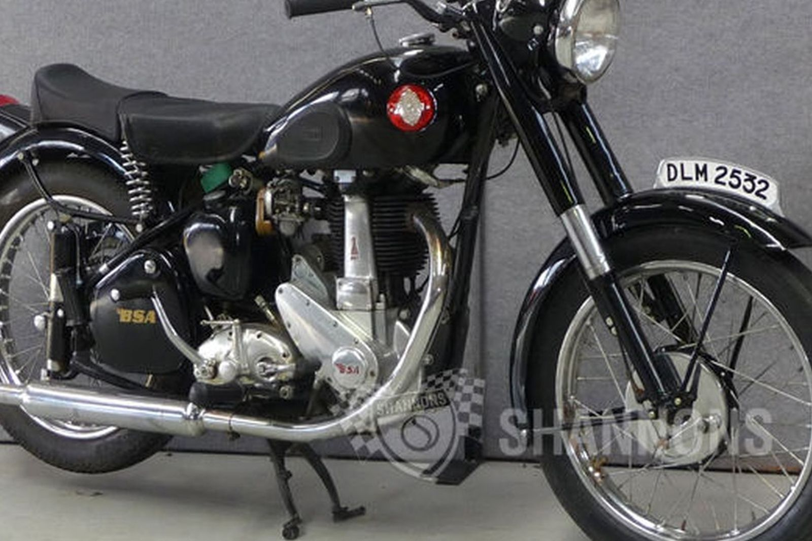 BSA B31 350cc Motorcycle