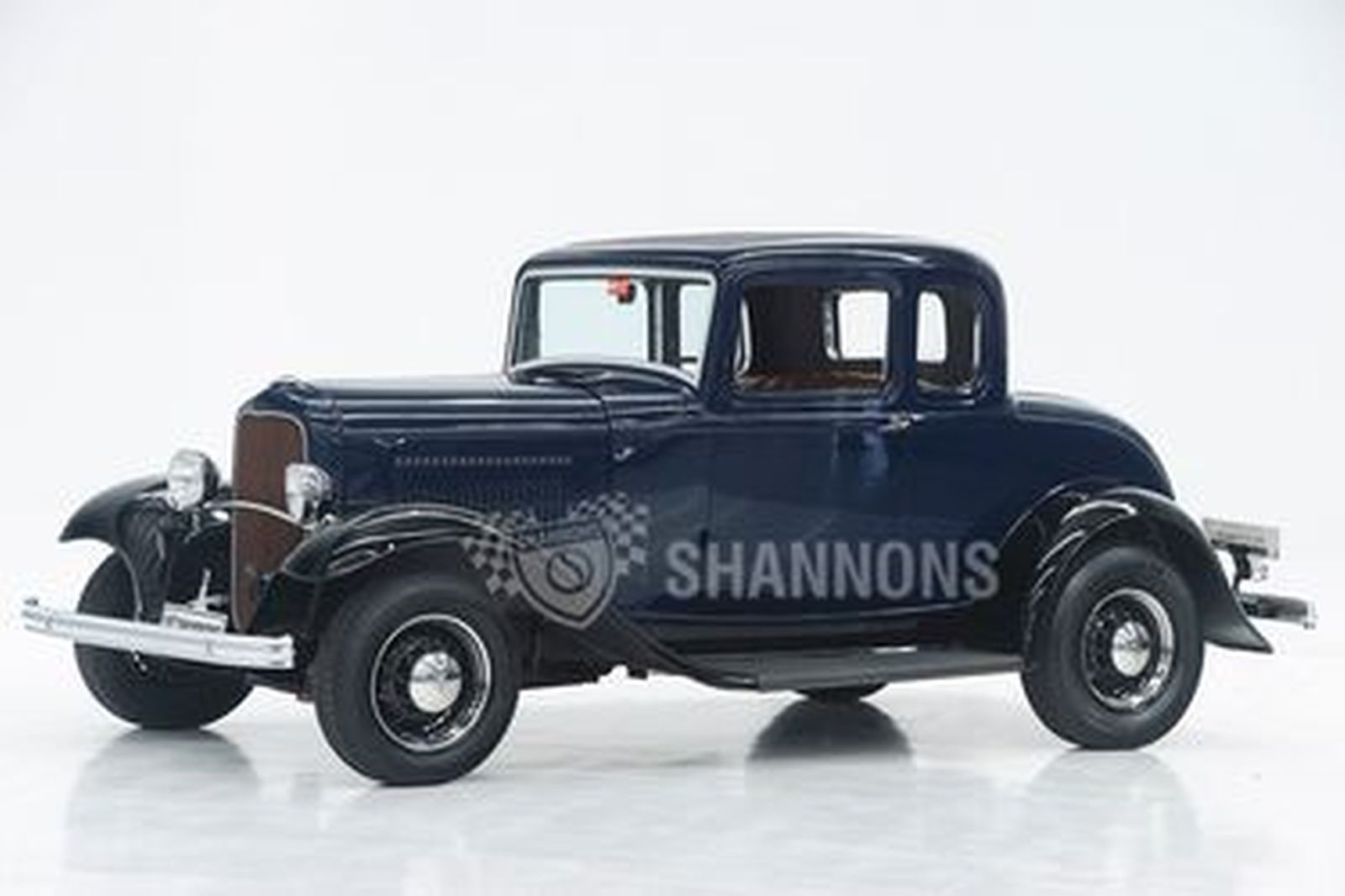 Ford 5 Window Coupe (LHD) - Estate of the Late Harold Johansen (Dry Lake Racer)