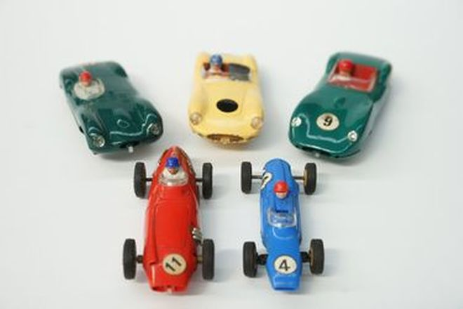 Model Cars - 5 x Scalextric Early Originals (Scale 1:32) - From the 'Ian Cummins Collection'