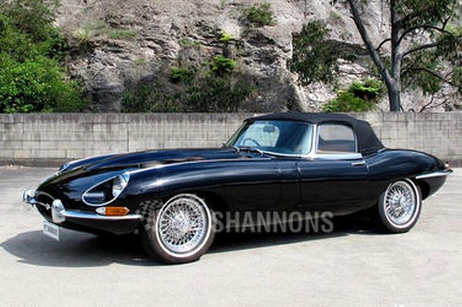 jaguar e type 4 2 series 1 1 2 roadster auctions lot 20 shannons. Black Bedroom Furniture Sets. Home Design Ideas