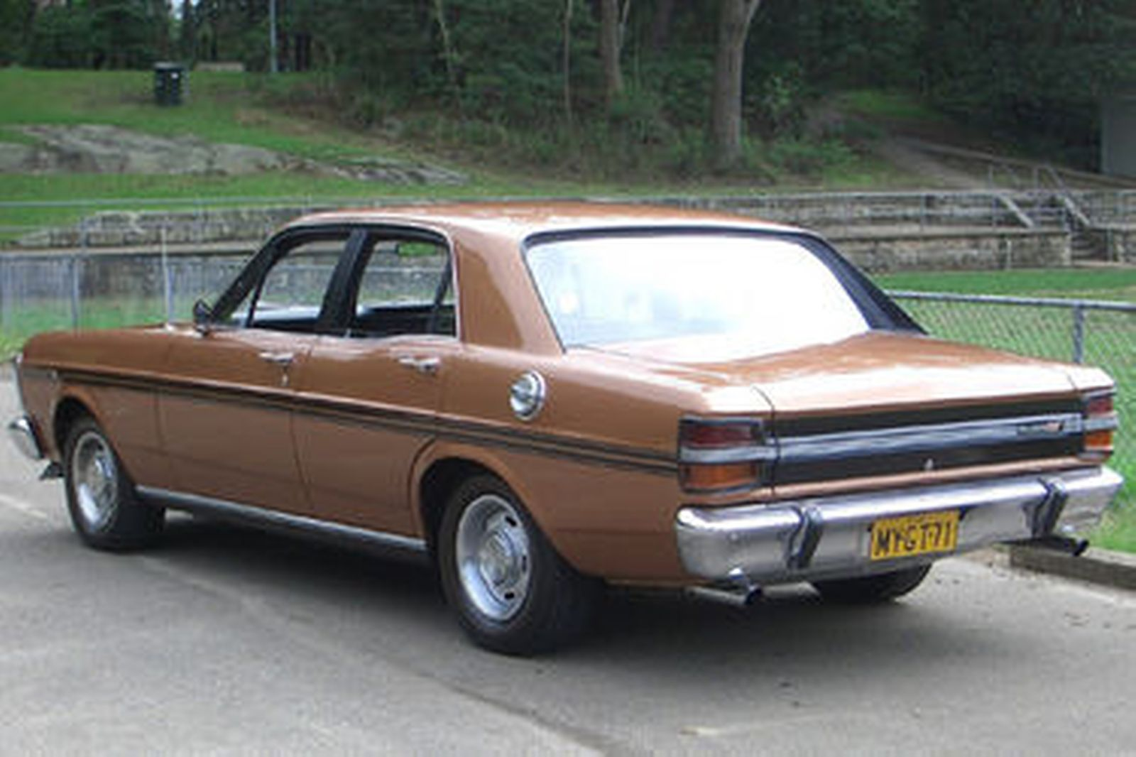 Sold Ford Falcon XY GT Sedan Auctions Lot 19 Shannons