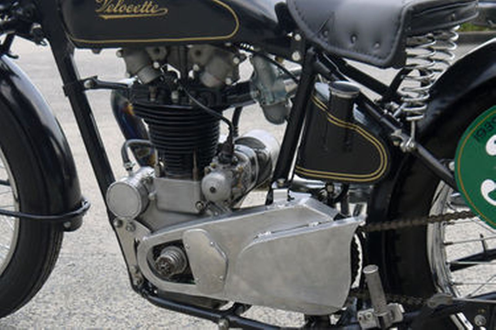 Velocette 350cc Mac Motorcycle