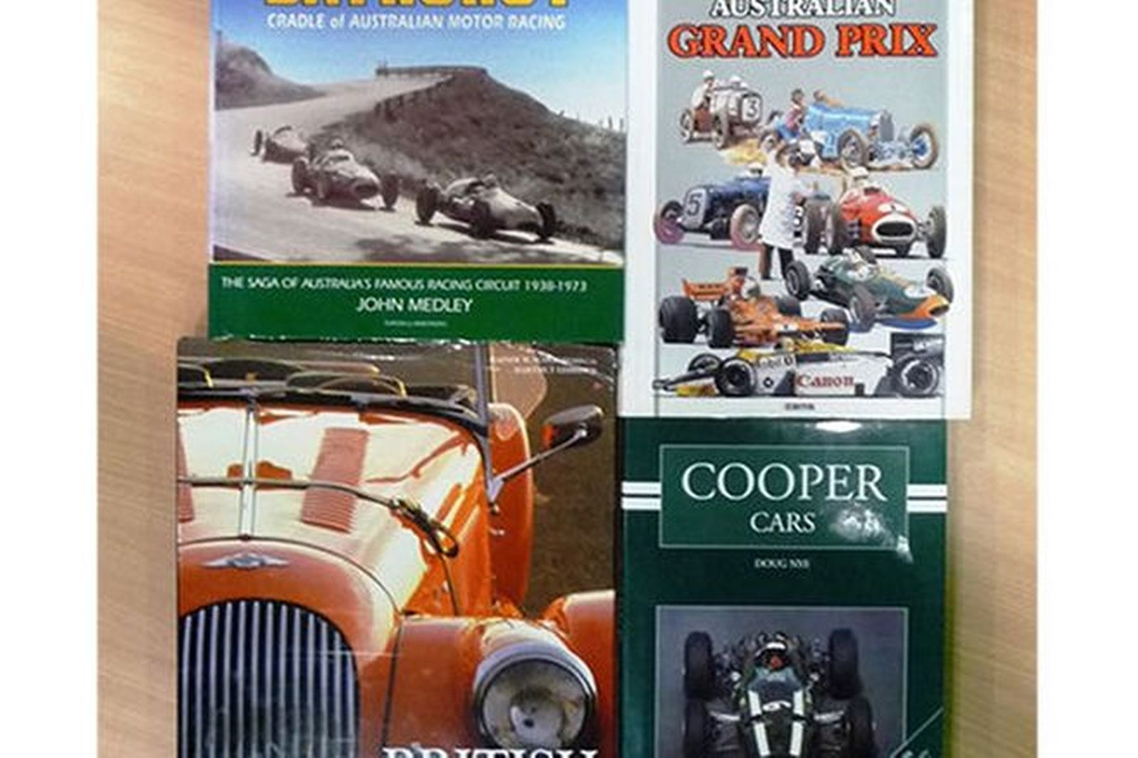 Motoring Books x 4