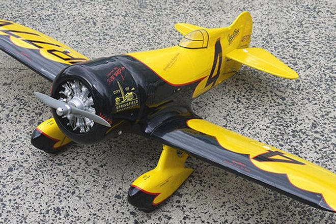 Model Plane - Aircraft Gee-Bee Model 'Z' 1930's racing model (wingspan 140cm)