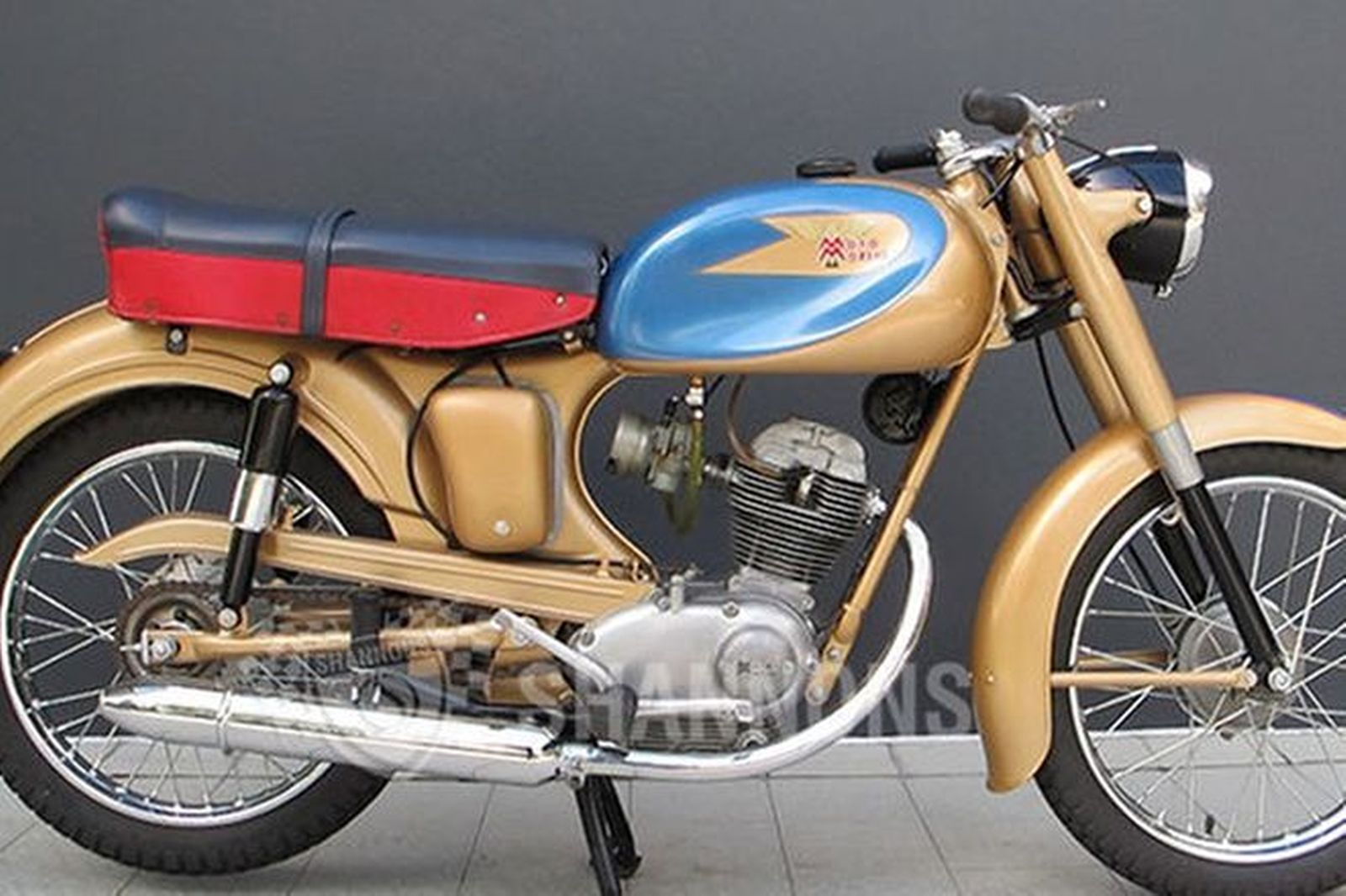 sold moto morini 100cc motorcycle auctions lot g shannons. Black Bedroom Furniture Sets. Home Design Ideas