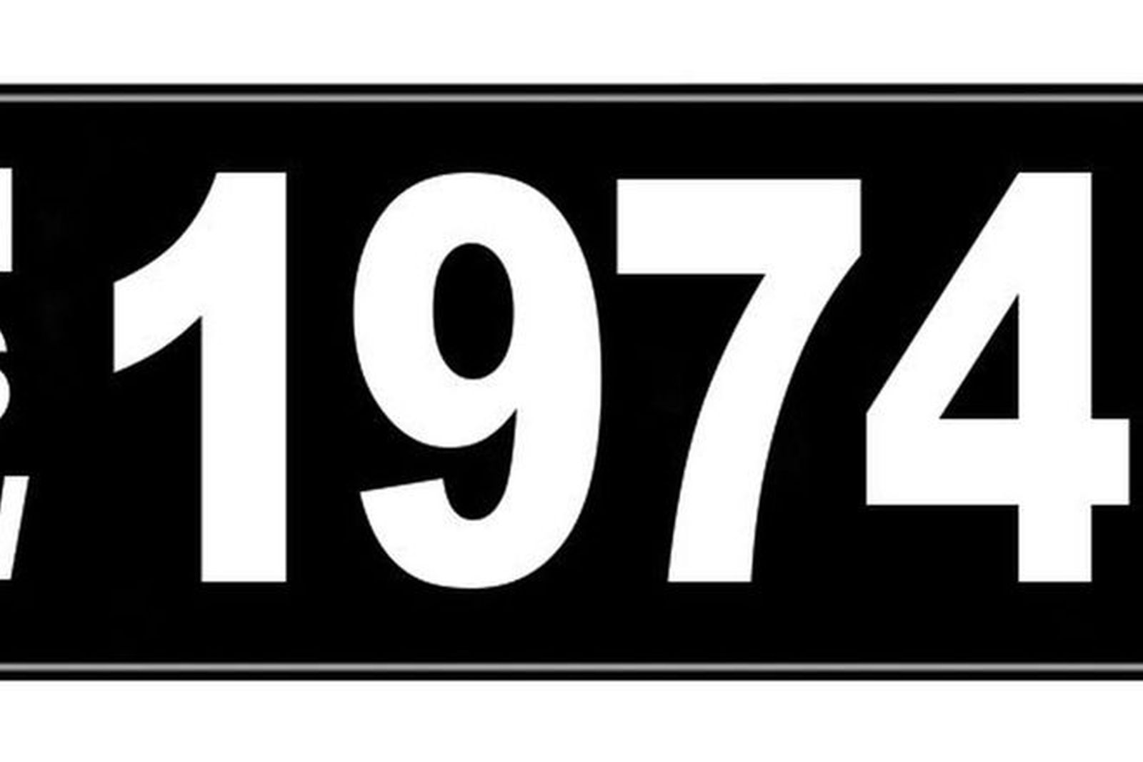sold number plate nsw numerical number plate 1974 auctions