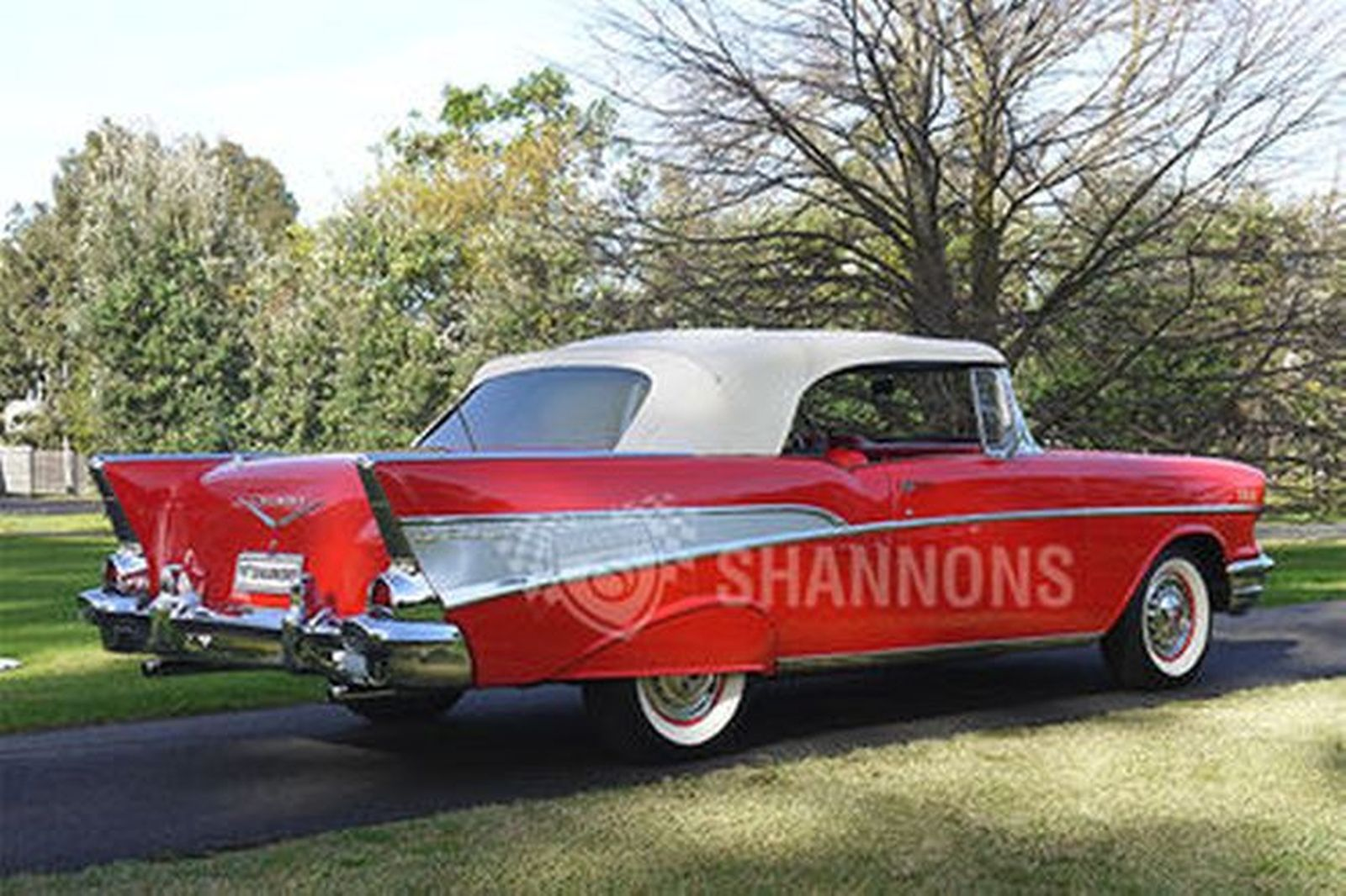 Sold Chevrolet Bel Air Convertible Lhd Auctions Lot 37 Shannons 1957 Chevy