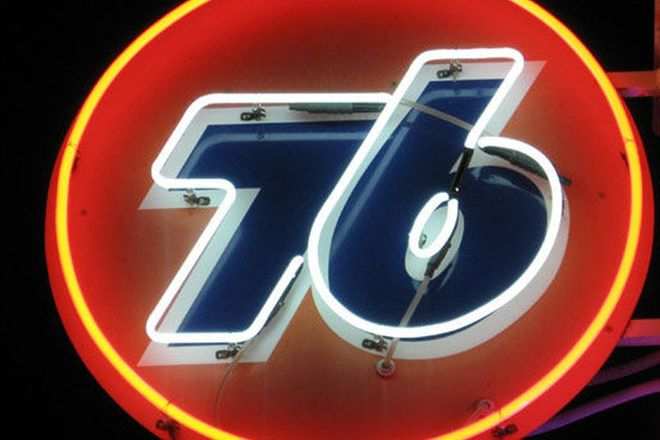 Neon - 76 Gasoline (600mm diameter)