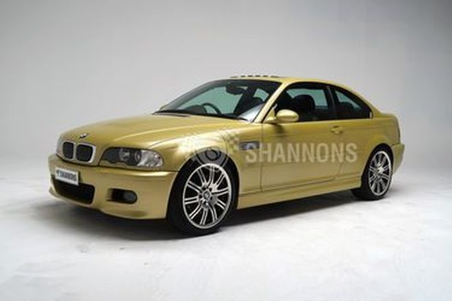 BMW E46 M3 'Manual' Coupe