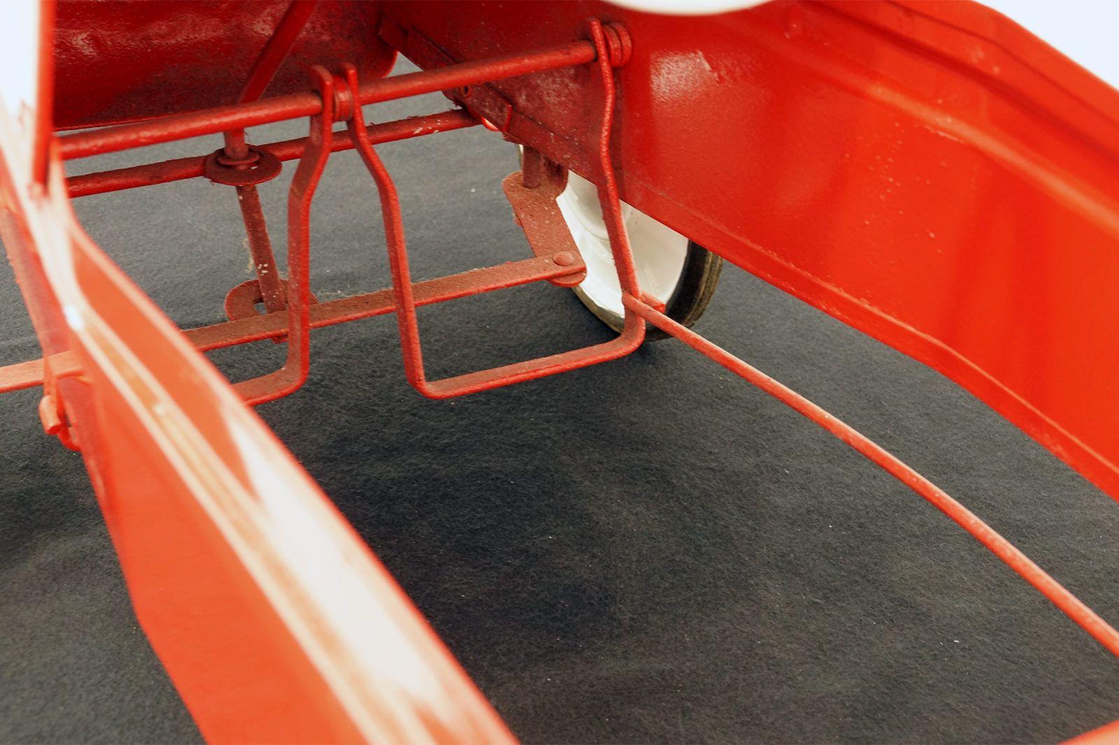 Cyclops Clipper Peddle Car - Original in Red