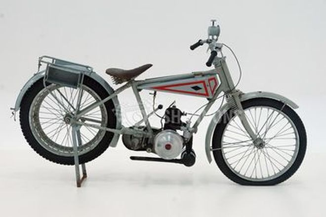 Diamond-Villiers Ultra Lightweight 147cc Solo Motorcycle (Project)