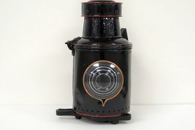 Lamp - Vintage Cosmetically Restored Railway Lamp