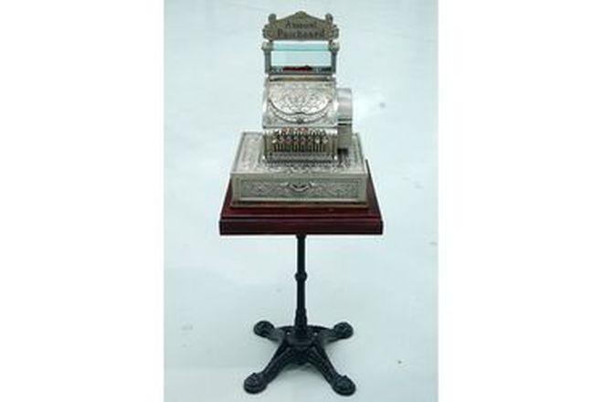 Cash Register - c1905 National Cash Register - Serial No #486123