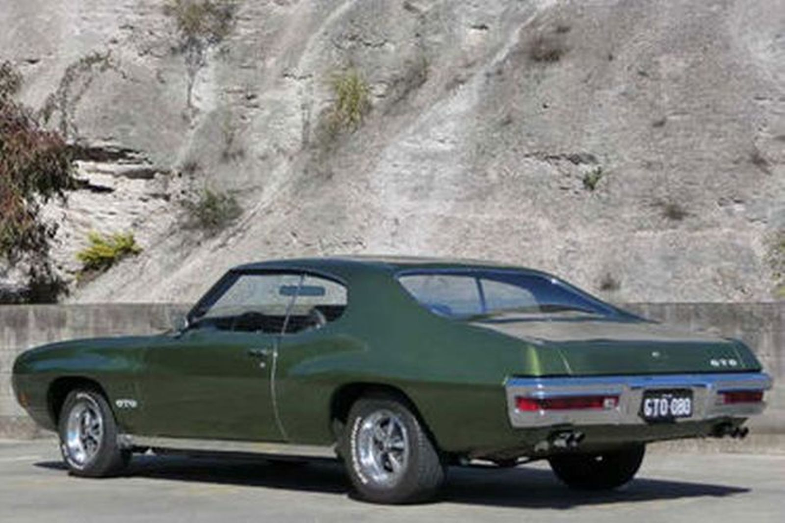 Pontiac Gto 400ci Coupe Lhd Auctions Lot 9 Shannons