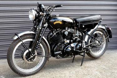 Vincent Rapide Solo Motorcycle