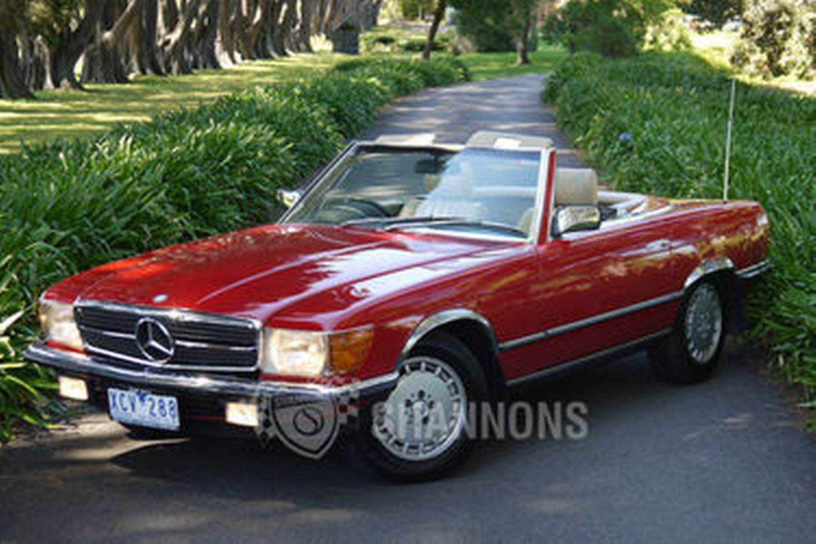 Sold Mercedes Benz 380sl Convertible Auctions Lot 28