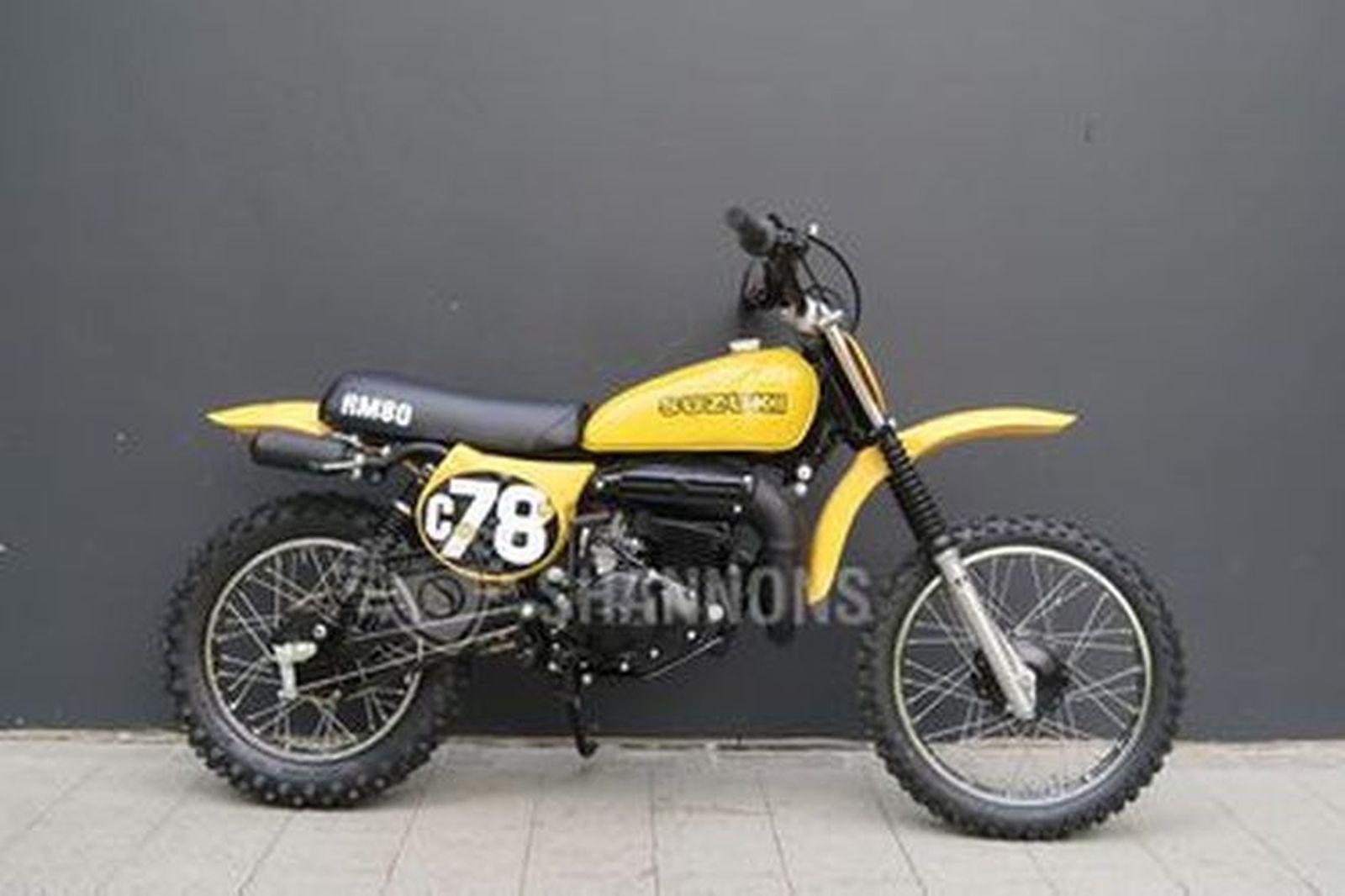 Suzuki RM 80 C MX Motorcycle