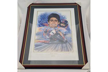'Michael Doohan - The Championship Era' Signed print - With COA #56/295 (795W x 990H)