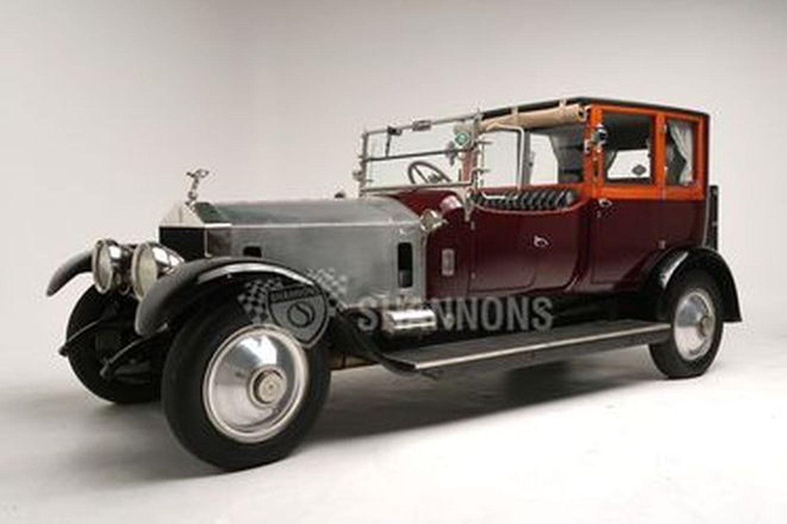 Rolls-Royce 40/50 HP Silver Ghost Brougham De Ville