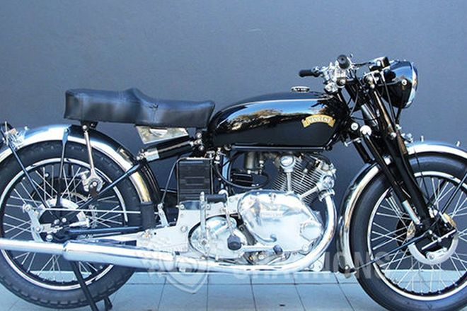 Vincent Comet Series C 500cc Motorcycle