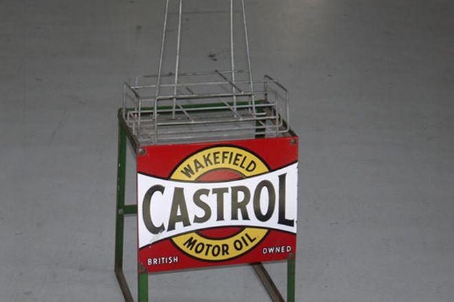 Oil Rack & Basket - Castrol Wakefield