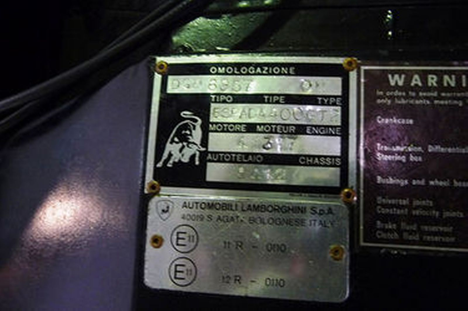 Lamborghini Espada Series lll Coupe