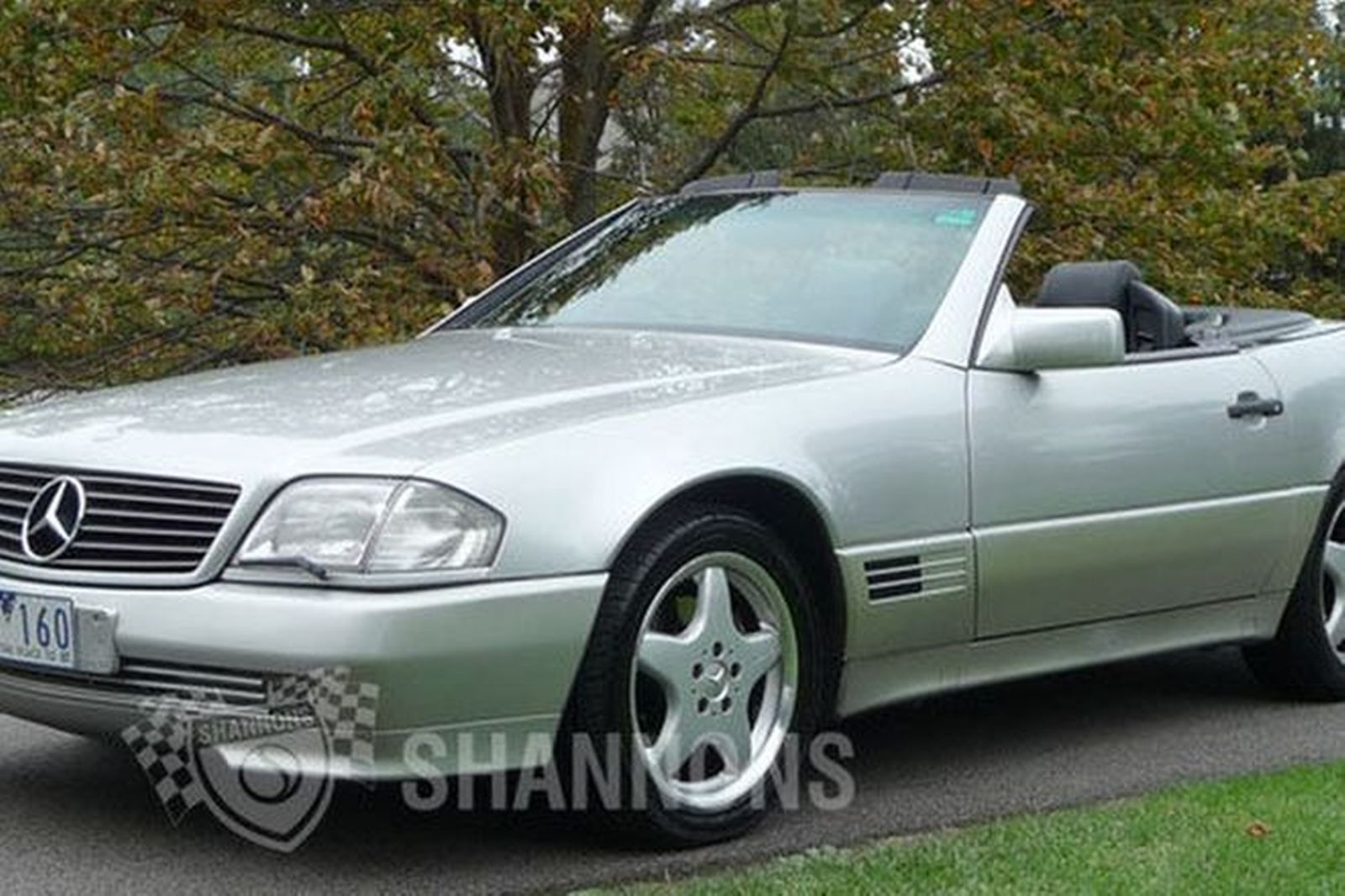 Sold mercedes benz 500sl convertible auctions lot 25 for Mercedes benz auction