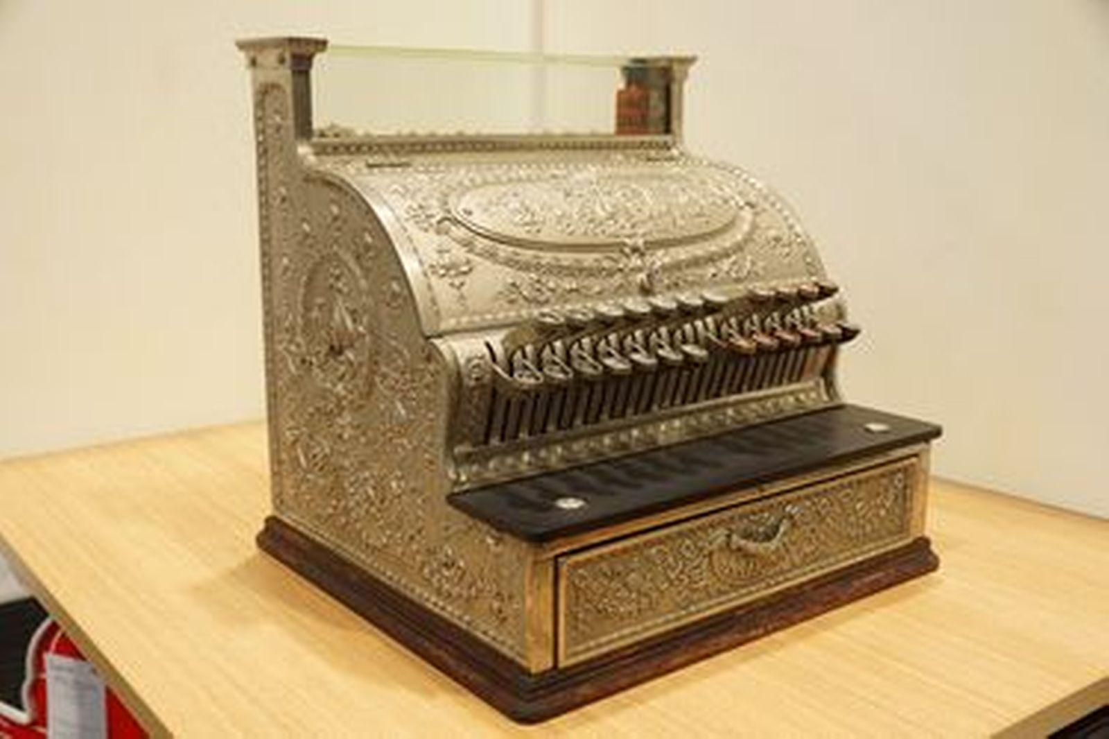 c1908 National Cash Register Model 347