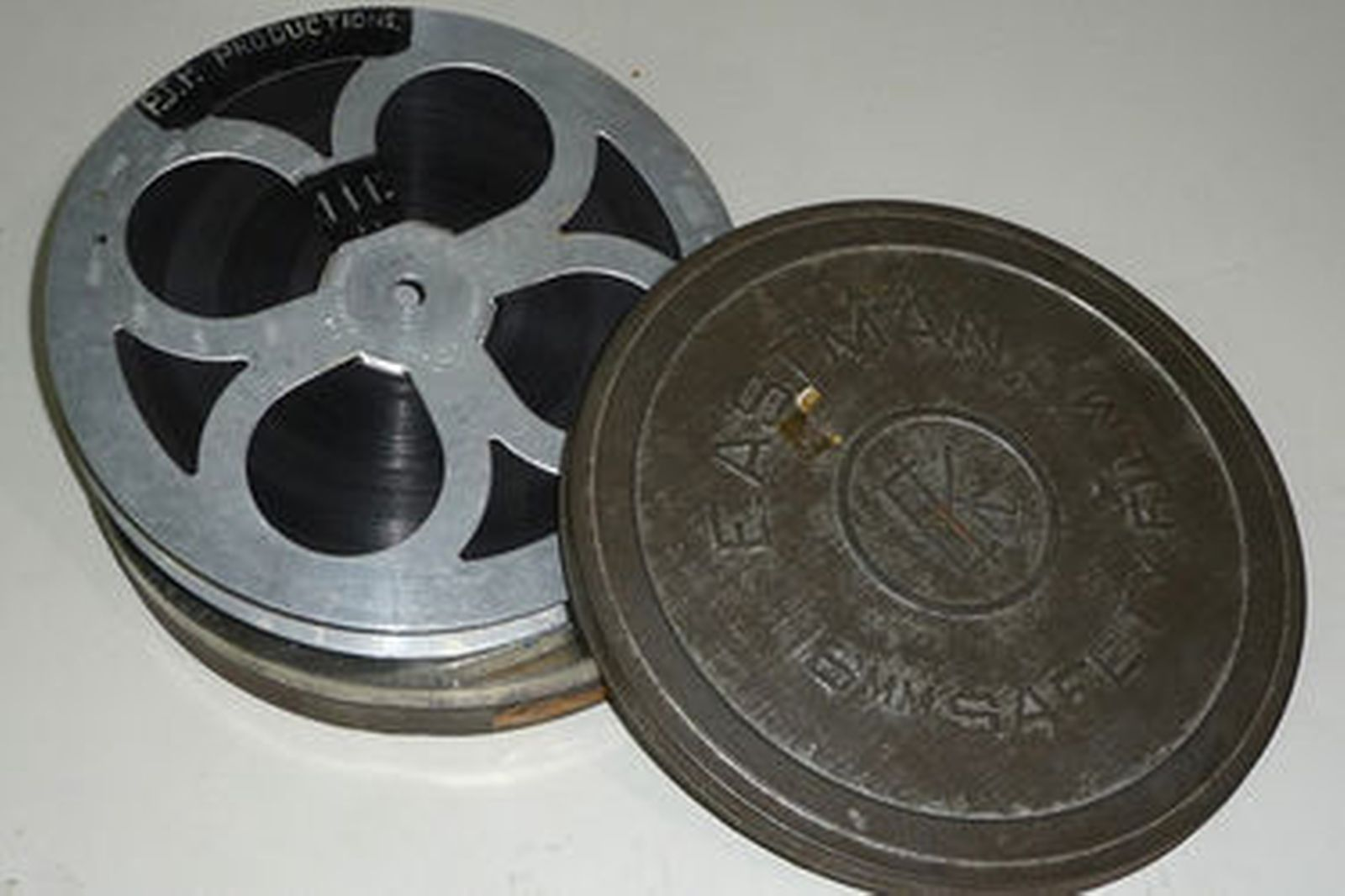 16mm Film - 1948 Silent film of first 48-215 off Production Line (approx 5 minutes run time)