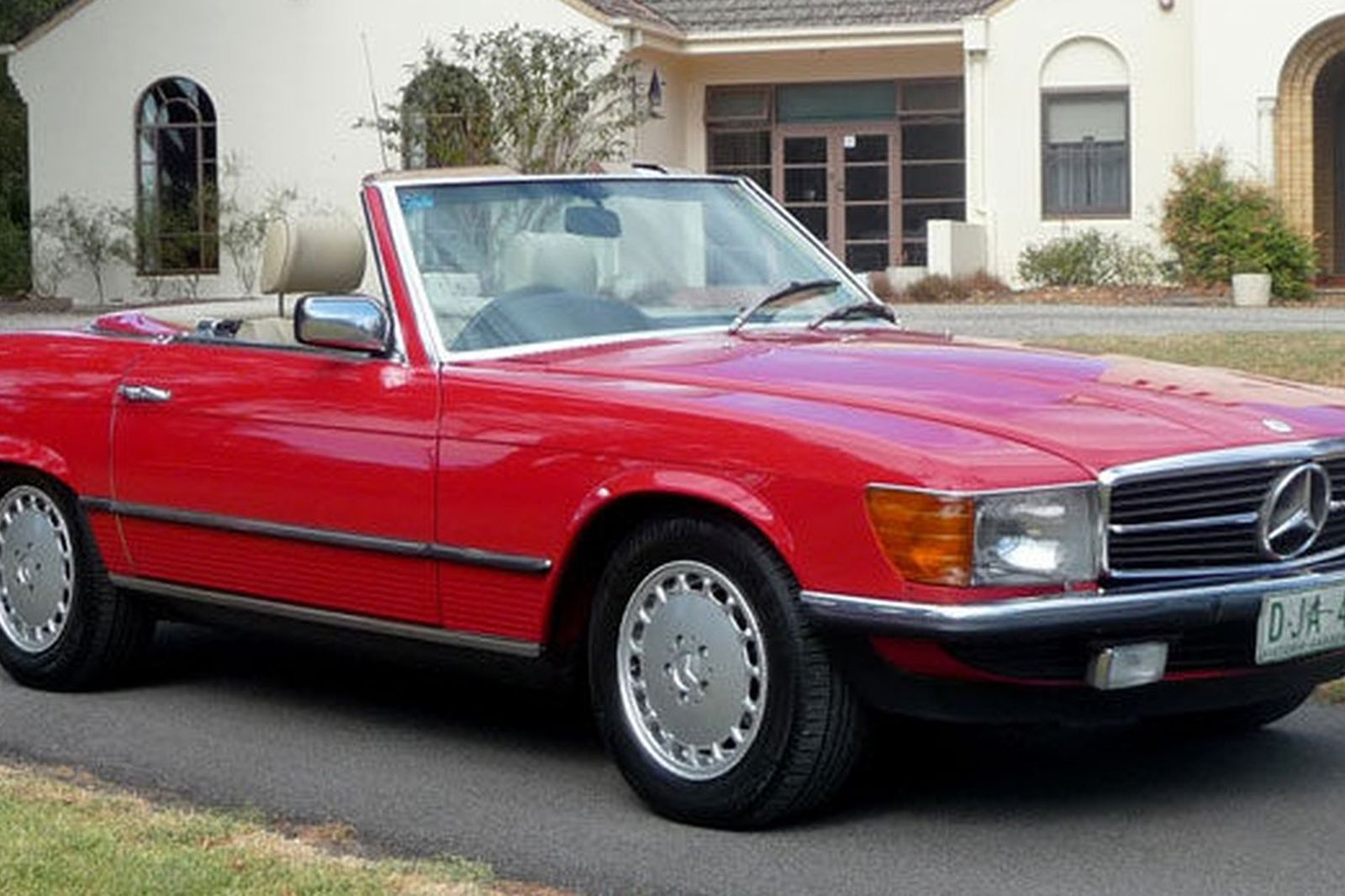 Sold mercedes benz 380sl convertible auctions lot 18 for Mercedes benz auction
