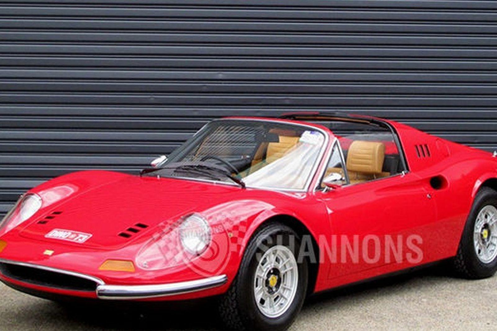 Sold Ferrari Dino 246 Gts Spyder Auctions Lot 25 Shannons