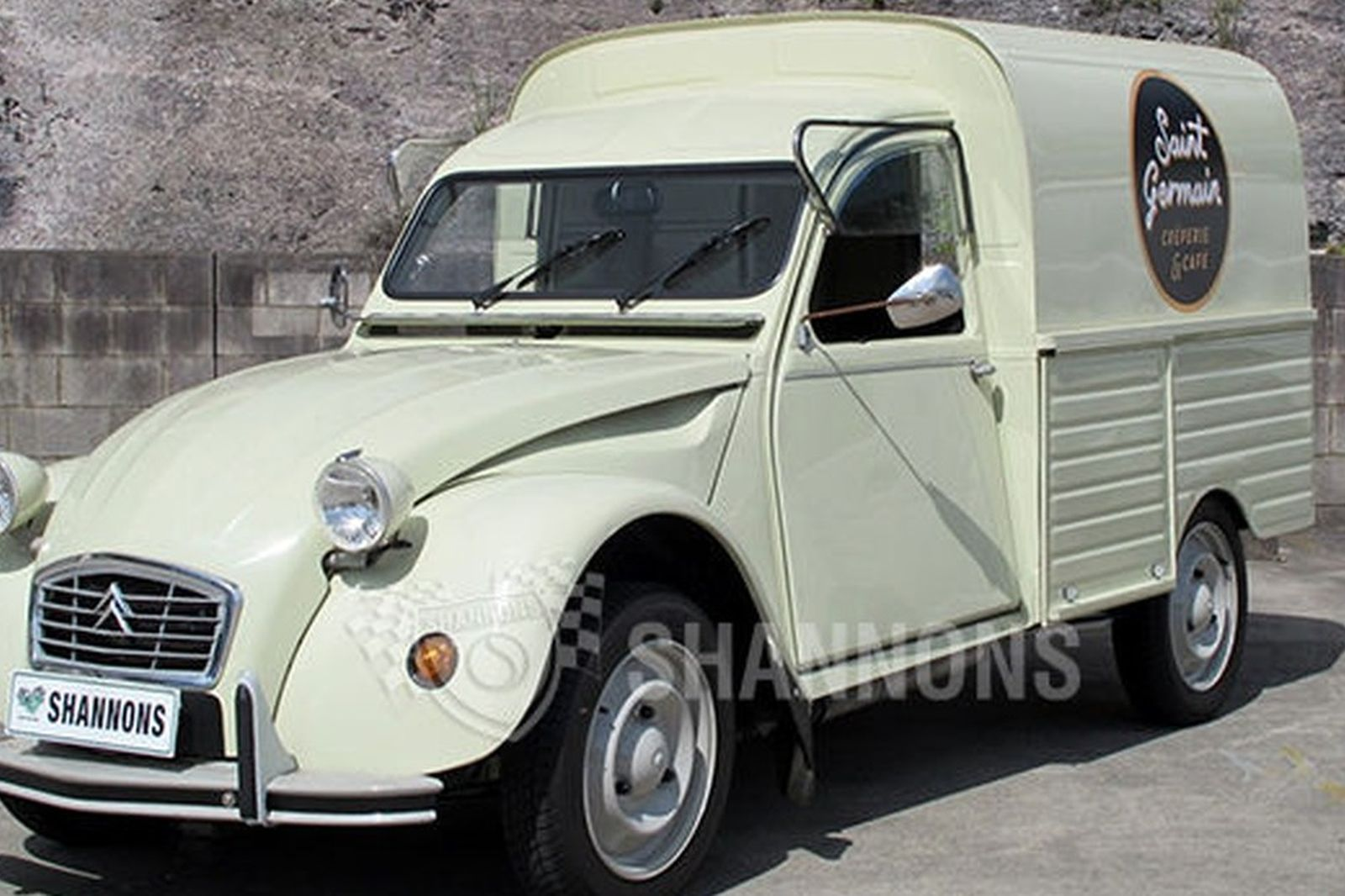 sold  citroen 2cv ak400 van  lhd  auctions - lot 7