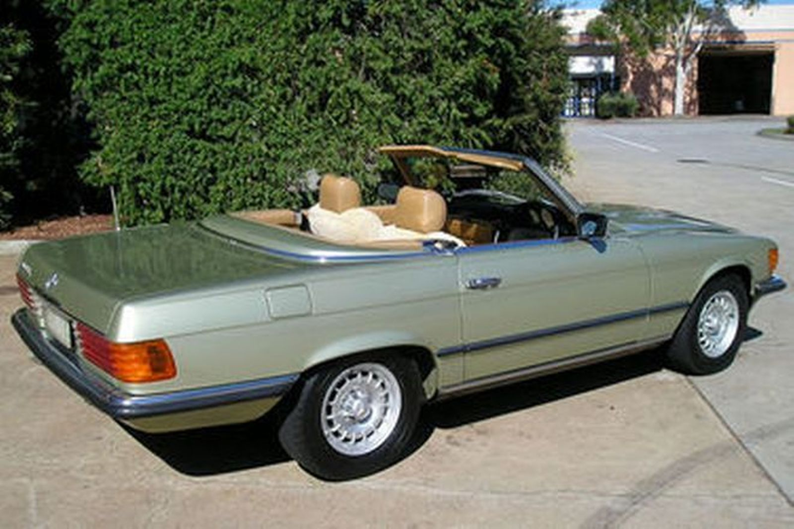 Sold Mercedes Benz 380sl Convertible Auctions Lot 14