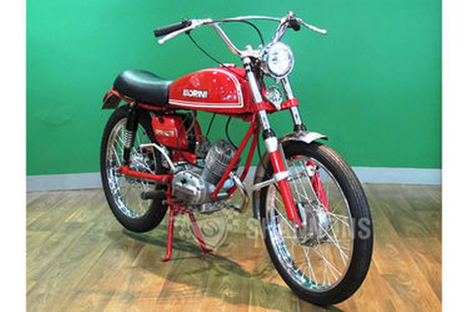 sold moto morini 49cc motorcycle auctions lot ad shannons. Black Bedroom Furniture Sets. Home Design Ideas