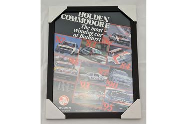 'The most winning car at Bathurst' Framed Poster (468W x 608H)