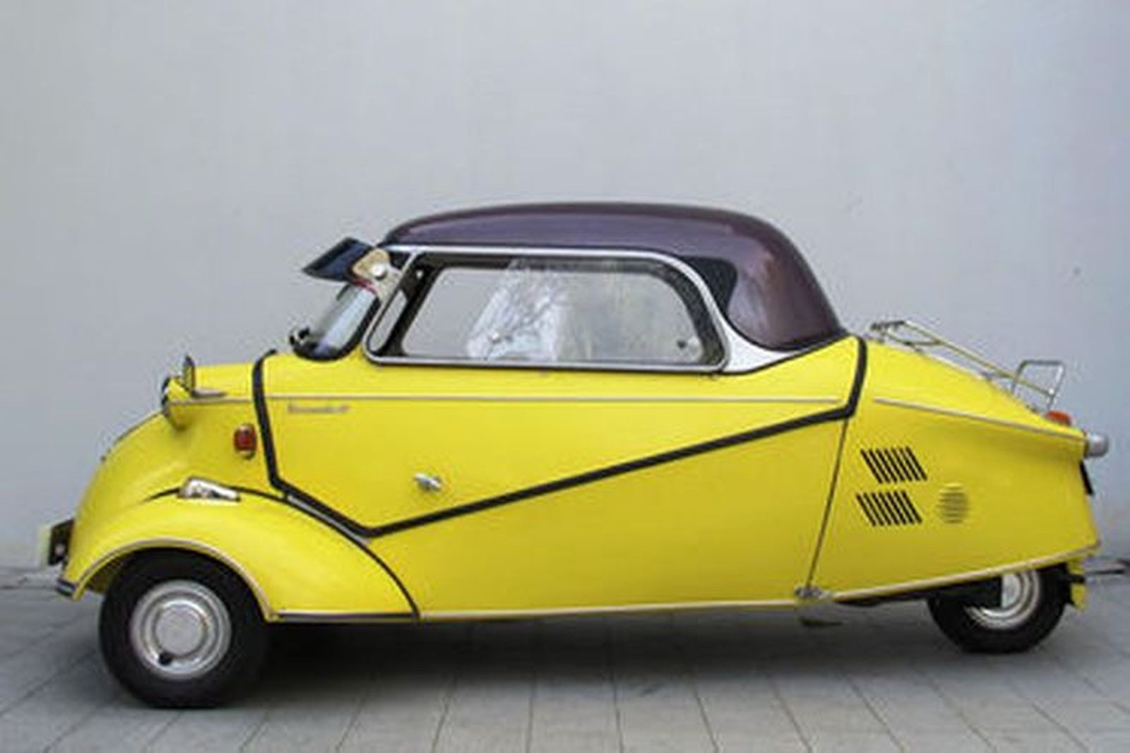 Sold messerschmitt kr200 3 wheeler microcar auctions for Classic 3