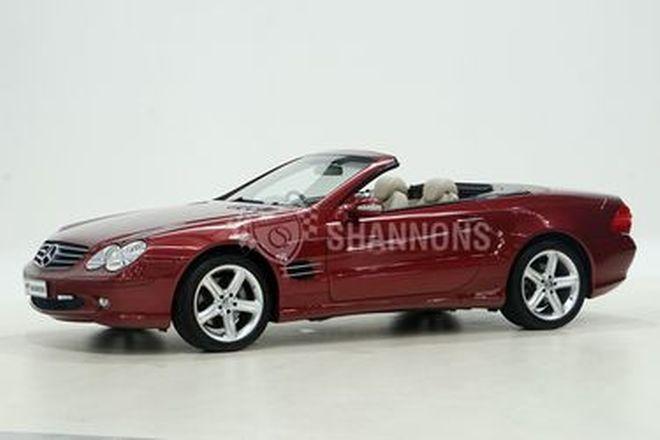 Mercedes-Benz SL500 W230 Convertible