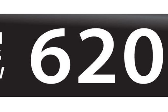 RTA NSW Numerical Number Plates '620'